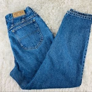 "Lee Riders 100% Cotton Mom Jeans Sz 14P 32"" Waist"